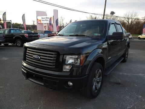 2012 Ford F-150 for sale at P J McCafferty Inc in Langhorne PA