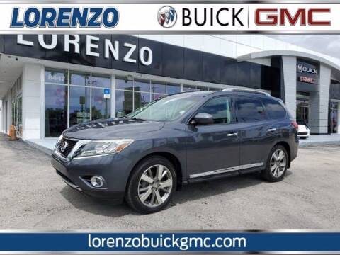 2014 Nissan Pathfinder for sale at Lorenzo Buick GMC in Miami FL