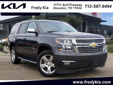 2017 Chevrolet Tahoe for sale at FREDY KIA USED CARS in Houston TX