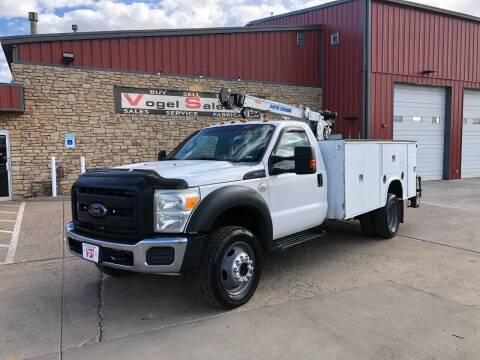 2012 Ford F-550 Super Duty for sale at Vogel Sales Inc in Commerce City CO
