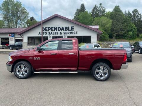 2018 RAM Ram Pickup 1500 for sale at Dependable Auto Sales and Service in Binghamton NY
