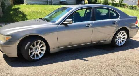 2003 BMW 7 Series for sale at Cannon Falls Auto Sales in Cannon Falls MN