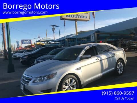 2012 Ford Taurus for sale at Borrego Motors in El Paso TX