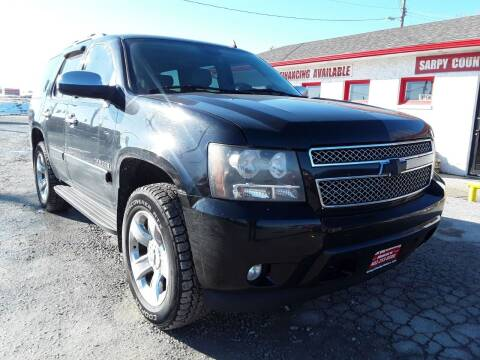 2008 Chevrolet Tahoe for sale at Sarpy County Motors in Springfield NE