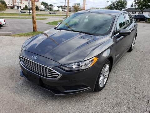 2018 Ford Fusion Hybrid for sale at Auto Hub in Grandview MO