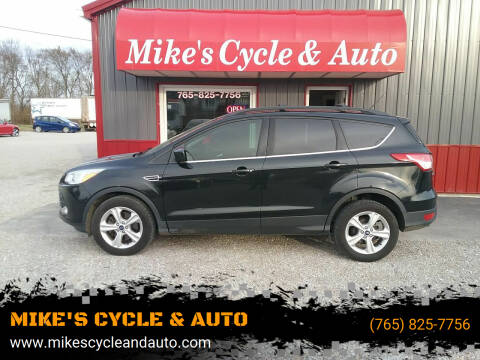 2013 Ford Escape for sale at MIKE'S CYCLE & AUTO in Connersville IN