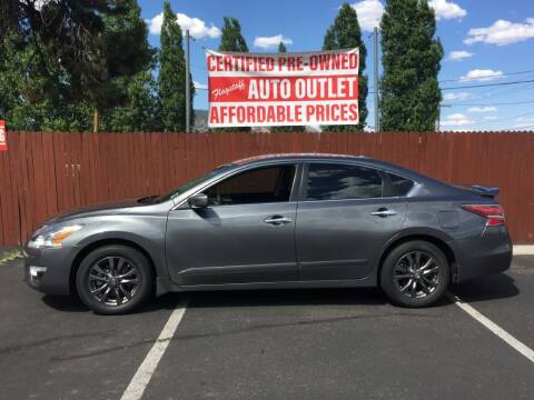 2015 Nissan Altima for sale at Flagstaff Auto Outlet in Flagstaff AZ