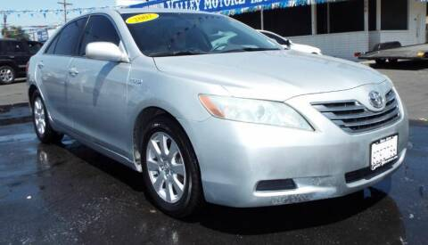 2007 Toyota Camry Hybrid for sale at 559 Motors in Fresno CA