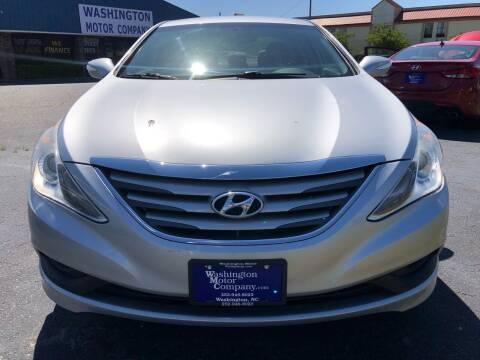 2014 Hyundai Sonata for sale at East Carolina Auto Exchange in Greenville NC