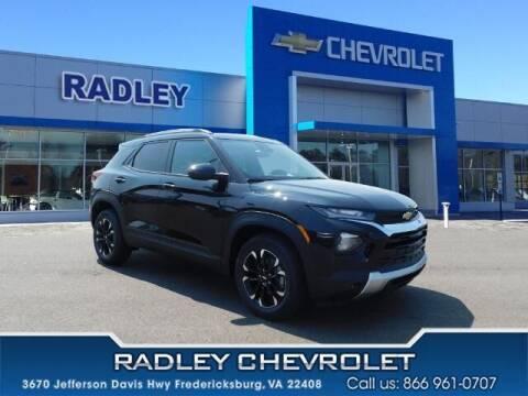 2022 Chevrolet TrailBlazer for sale at Radley Cadillac in Fredericksburg VA