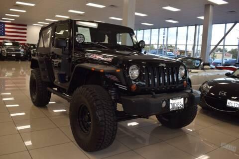 2011 Jeep Wrangler for sale at Legend Auto in Sacramento CA