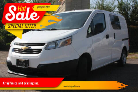 2016 Chevrolet City Express Cargo for sale at Ariay Sales and Leasing Inc. - Pre Owned Storage Lot in Denver CO
