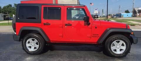 2015 Jeep Wrangler Unlimited for sale at G L TUCKER AUTO SALES in Joplin MO