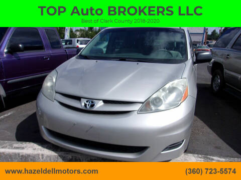 2007 Toyota Sienna for sale at TOP Auto BROKERS LLC in Vancouver WA