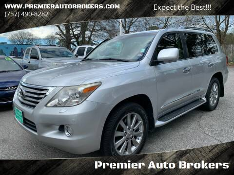 2009 Lexus LX 570 for sale at Premier Auto Brokers in Virginia Beach VA
