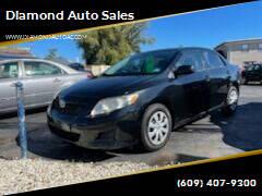 2009 Toyota Corolla for sale at Diamond Auto Sales in Pleasantville NJ