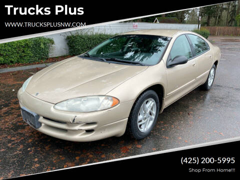 2001 Dodge Intrepid for sale at Trucks Plus in Seattle WA