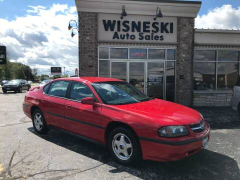 2004 Chevrolet Impala for sale at Wisneski Auto Sales, Inc. in Green Bay WI