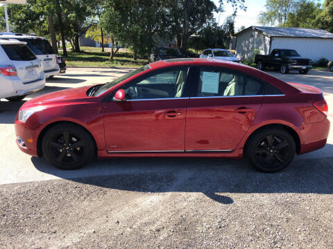 2013 Chevrolet Cruze for sale at 6th Street Auto Sales in Marshalltown IA