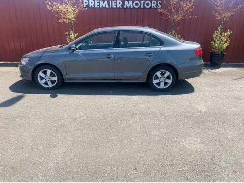2013 Volkswagen Jetta for sale at PREMIERMOTORS  INC. in Milton Freewater OR