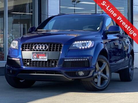 2014 Audi Q7 for sale at Carmel Motors in Indianapolis IN