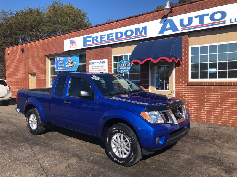 2014 Nissan Frontier for sale at FREEDOM AUTO LLC in Wilkesboro NC