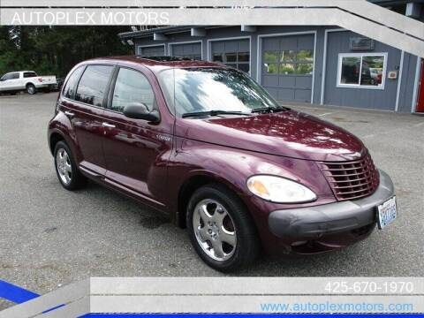 2001 Chrysler PT Cruiser for sale at Autoplex Motors in Lynnwood WA