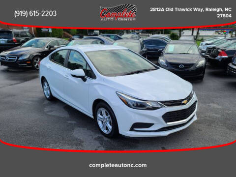 2018 Chevrolet Cruze for sale at Complete Auto Center , Inc in Raleigh NC