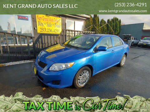 2009 Toyota Corolla for sale at KENT GRAND AUTO SALES LLC in Kent WA