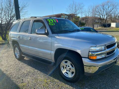 2004 Chevrolet Tahoe for sale at Quintero's Auto Sales in Vacaville CA