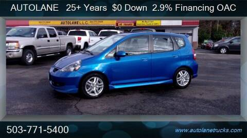 2007 Honda Fit for sale at Auto Lane in Portland OR
