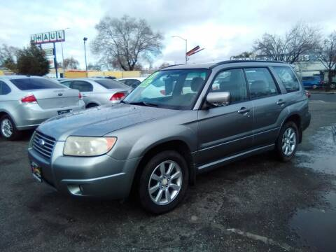 2007 Subaru Forester for sale at Larry's Auto Sales Inc. in Fresno CA