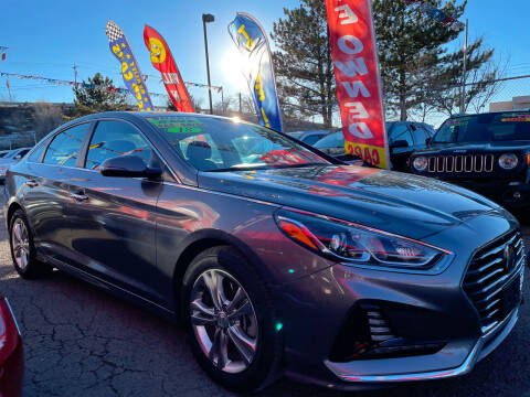 2018 Hyundai Sonata for sale at Duke City Auto LLC in Gallup NM
