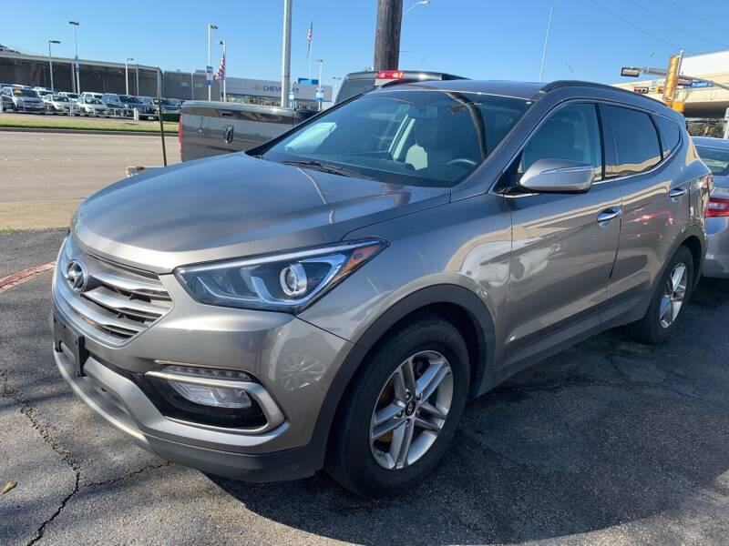 2017 Hyundai Santa Fe Sport for sale at New Start Auto in Richardson TX