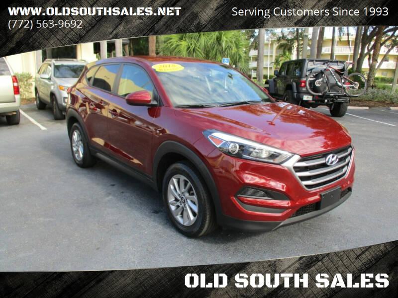 2018 Hyundai Tucson for sale at OLD SOUTH SALES in Vero Beach FL