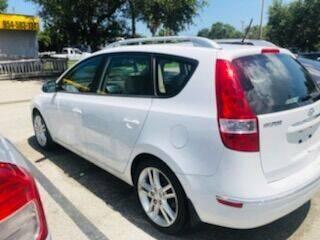 2011 Hyundai Elantra Touring for sale at DAN'S DEALS ON WHEELS AUTO SALES, INC. in Davie FL