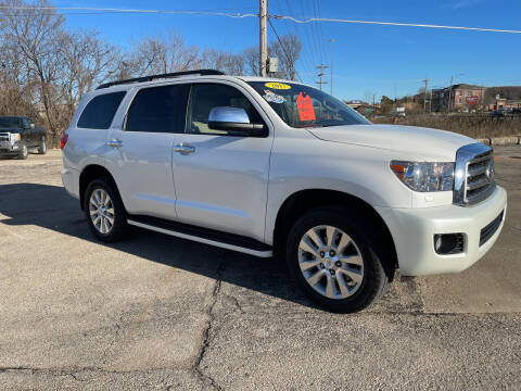 2017 Toyota Sequoia for sale at Foust Fleet Leasing in Topeka KS
