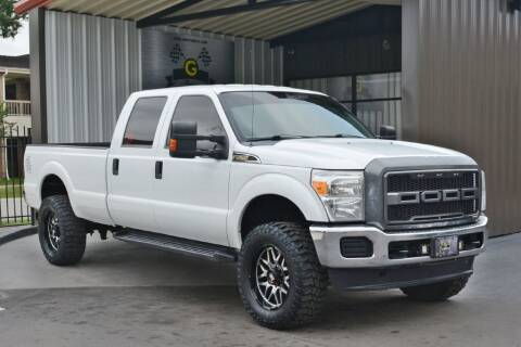 2012 Ford F-350 Super Duty for sale at G MOTORS in Houston TX