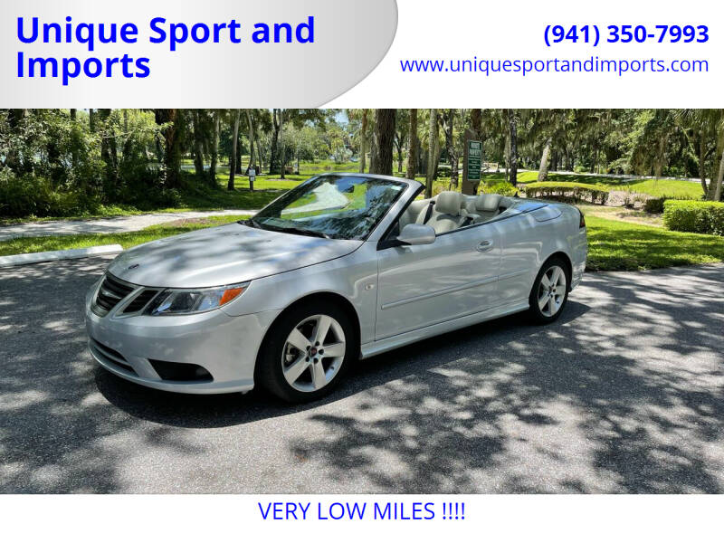 2010 Saab 9-3 for sale at Unique Sport and Imports in Sarasota FL