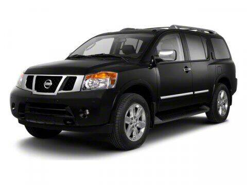 2013 Nissan Armada for sale at Scott Evans Nissan in Carrollton GA