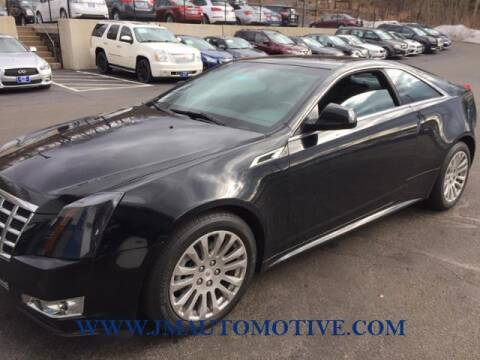 2014 Cadillac CTS for sale at J & M Automotive in Naugatuck CT
