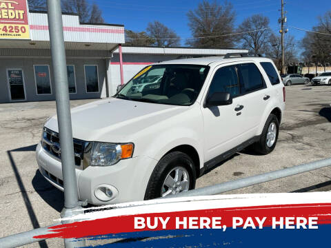 2012 Ford Escape for sale at Central Auto Credit Inc in Kansas City KS