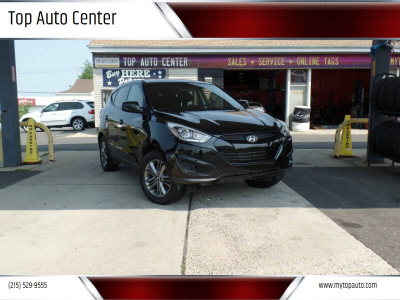2015 Hyundai Tucson for sale at Top Auto Center in Quakertown PA