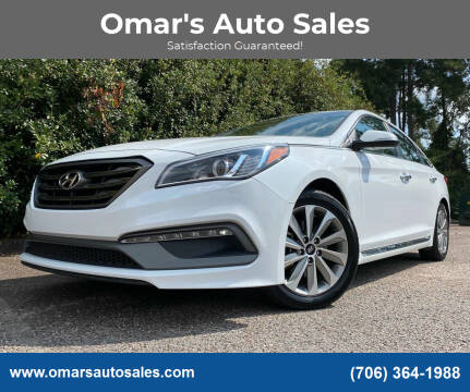 2016 Hyundai Sonata for sale at Omar's Auto Sales in Martinez GA