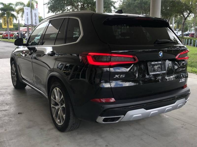 2019 BMW X5 AWD xDrive40i 4dr Sports Activity Vehicle - Davie FL