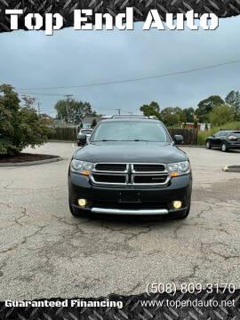 2012 Dodge Durango for sale at Top End Auto in North Attleboro MA