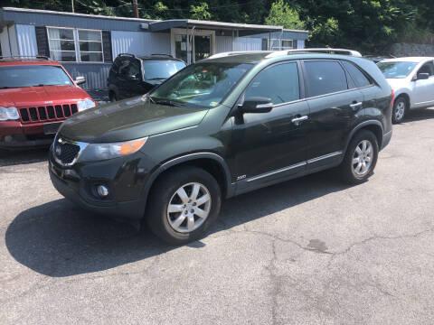 2011 Kia Sorento for sale at J & J Autoville Inc. in Roanoke VA