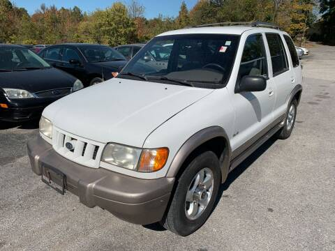 2002 Kia Sportage for sale at Best Buy Auto Sales in Murphysboro IL