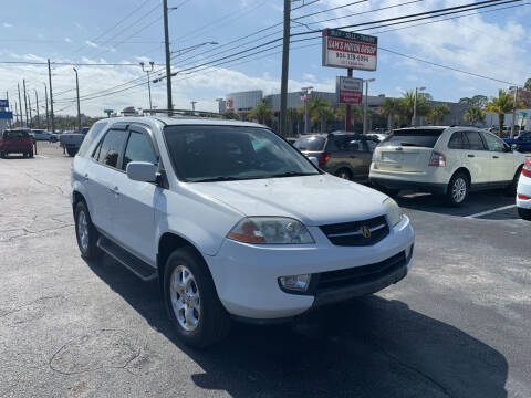 2002 Acura MDX for sale at Sam's Motor Group in Jacksonville FL
