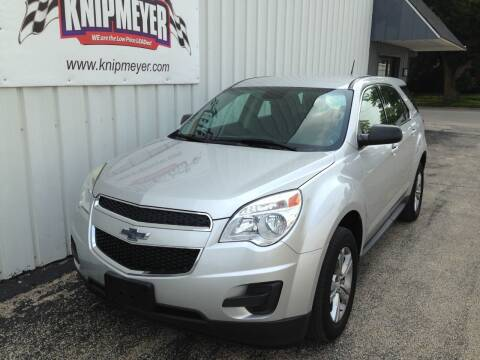 2014 Chevrolet Equinox for sale at Team Knipmeyer in Beardstown IL